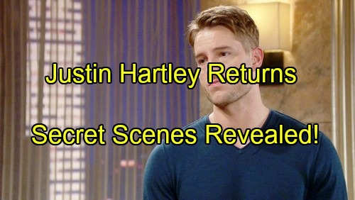 The Young and the Restless Spoilers: Secret Adam Scenes Filmed With Justin Hartley Revealed – Christian Alive Prompts Return