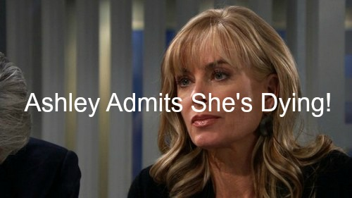 The Young and the Restless (Y&R) Spoilers: Ashley's Shocking Life or Death Confession - Is She Dying?