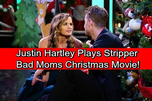 The Young and the Restless Spoilers: Y&R Alum Justin Hartley Plays a Male Stripper-Fireman in A Bad Moms Christmas