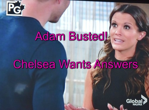 The Young and the Restless Spoilers: Chelsea Realizes Adam Being Blackmailed, Demands Truth – Hilary Can't Sign Divorce Papers