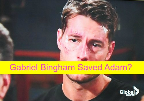 The Young and the Restless (Y&R) Spoilers: Gabriel Bingham Saved Adam - Reveals Sage's Role to Reporter?