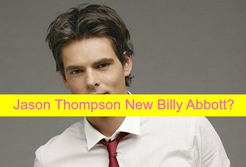 The Young and the Restless Spoilers: Fire Burns Billy Badly, Needs Plastic Surgery - Jason Thompson Replaces Burgess Jenkins