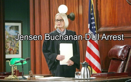 The Young and the Restless (Y&R) Spoilers: Jensen Buchanan Arrested For Dui Following Car Accident