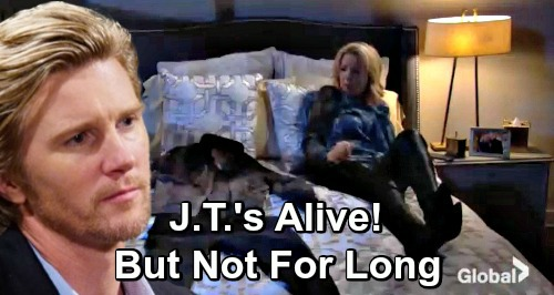 The Young and the Restless Spoilers: Double J.T. Twist - Abuser's Return Brings a Shocker – J.T. Alive, But Not for Long?