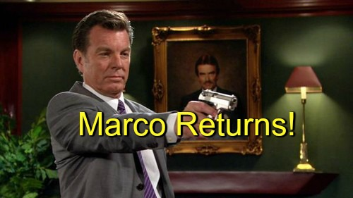 The Young and the Restless (Y&R) Spoilers: Marco Alive - Teams Up with Luca for Victor Revenge Scheme