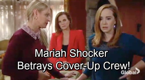 The Young and the Restless Spoilers: Mariah Goes Rogue, Betrays Cover-up Crew – Victor Returns as Tessa War Breaks Out