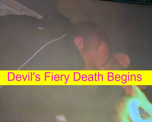The Young and the Restless (Y&R) Spoilers: Stitch and Cane, The First Casualties - Devil's Fiery Death Begins!
