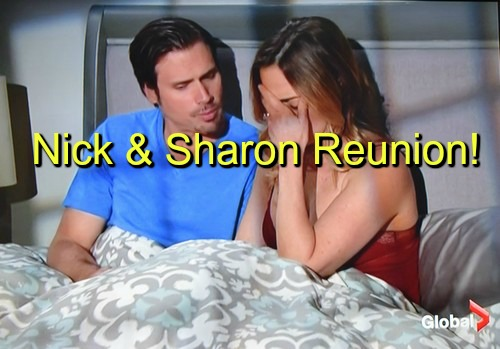 The Young and the Restless (Y&R) Spoilers: Nick and Sharon Reunion in the Works - Losing Sully and Christian Strengthens Bond