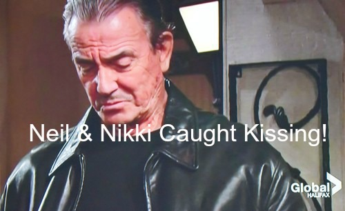 The Young and the Restless (Y&R) Spoilers: Neil and Nikki Caught Kissing on New Year's Eve - Hilary and Victor Stunned!