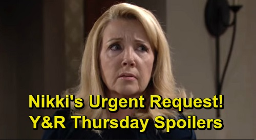 The Young and the Restless Spoilers: Thursday, September 19 – Nikki's Urgent Request for Paul – Nick Catches Phyllis Off Guard