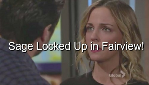 The Young and the Restless (Y&R) Spoilers: Locked Up In Fairview - Dr A Pushes Sage to Madness After She Learns Christian Alive
