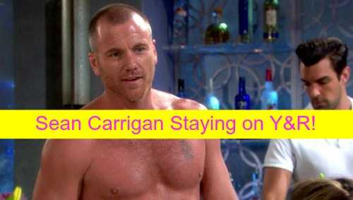 The Young and the Restless Spoilers: Sean Carrigan Tweets Staying on Y&R, Stitch Exit Rumors False