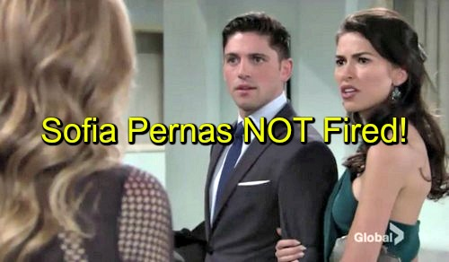 The Young And The Restless Yr Spoilers Sofia Pernas Not Fired As Marisa