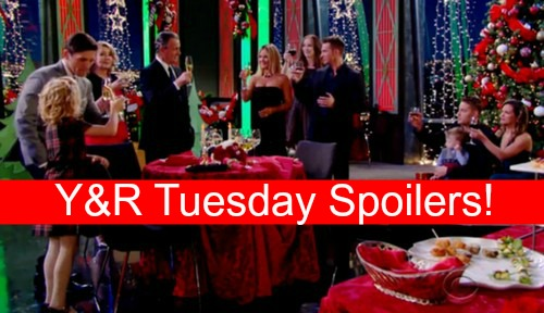 The Young and the Restless Spoilers: See What's Happening on Y&R Tuesday, December 22 – Christmas Party in the Works