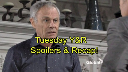'The Young and the Restless' Spoilers: Jack Hands Over Cash, Wants Dirty Details from Colin – Sharon Gets Mystery Phone Call