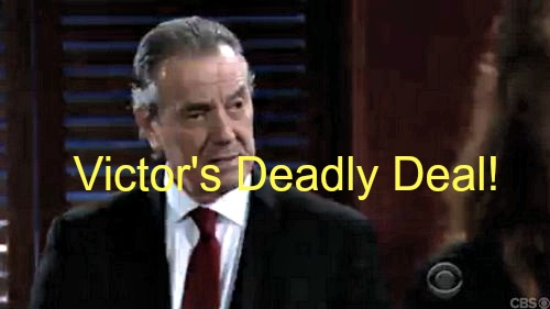 The Young and the Restless (Y&R) Spoilers: Victor's Deadly Deal Beats Marco Criminal Charges - The Moustache Redeemed!