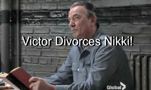 The Young and the Restless (Y&R) Spoilers: Victor Stuns Nikki with Jailhouse Divorce - New Romance for The Moustache?