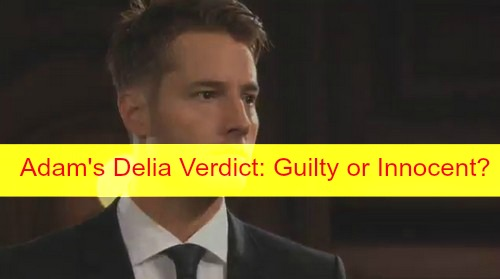The Young and the Restless (Y&R) Spoilers: Adam Gets Delia Verdict – Noah and Marisa's Sexy Encounter