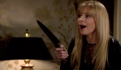 'The Young and the Restless' Spoilers: Kelly 'The Young and the Restless' Spoilers: Kelly Stabs Phyllis in Knife Attack - A Dream or Part of Victor's Plan?