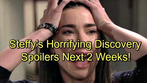 The Bold and the Beautiful Spoilers Next 2 Weeks: Bill Orders Justin to Dig Up Liam Dirt – Steffy Makes a Horrifying Discovery