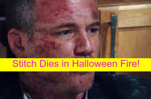 The Young and the Restless (Y&R) Spoilers: Sean Carrigan Out - Stitch Dies in Halloween Fire - 'People' Changes Article!