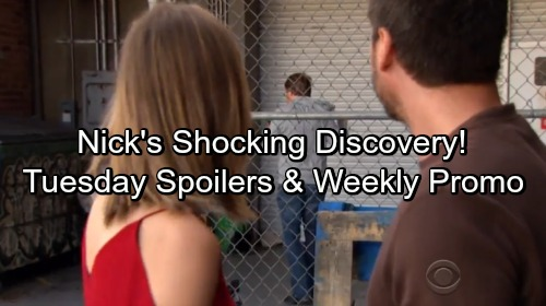 The Young and the Restless Spoilers: Tuesday, May 15 – Nick's Stunning Discovery – Jack's Missing - Shocking Weekly Promo Video