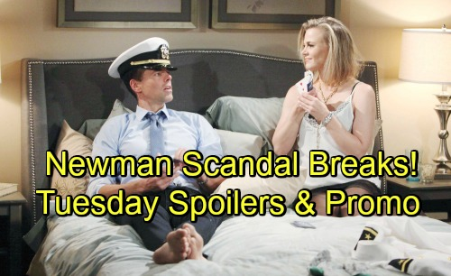The Young and the Restless Spoilers: Tuesday, June 26 – Shocking Scandal Hits Nikki and Victor – Summer and Kyle's Naked Fun