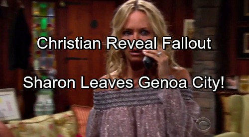 The Young and the Restless Spoilers: Sully Reveal as Christian Makes Sharon Leave Genoa City