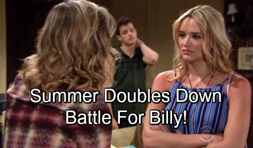 The Young and the Restless Spoilers: Summer Wants To Double Down – Phyllis Ready For Billy Battle