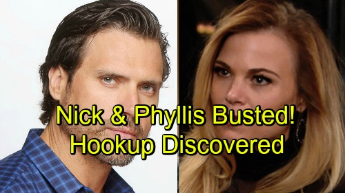 The Young and the Restless Spoilers: Nick and Phyllis Busted - Hookup Secret Spells Trouble