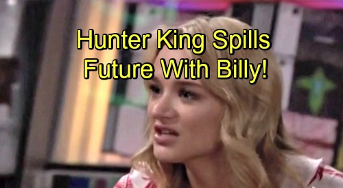 The Young and the Restless Spoilers: Hunter King Dishes on Summer's Future With Billy, Prison Visit and Her Y&R Status