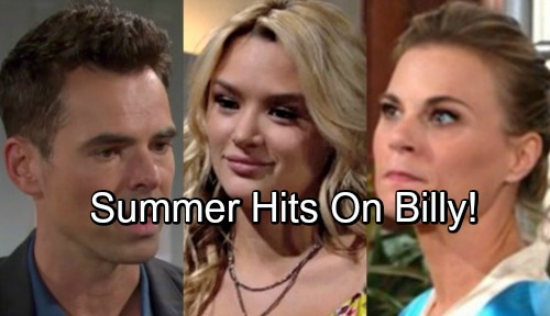 The Young and the Restless Spoilers: Naked Temptation Looms for Billy and Summer – Y&R Sets Up Bombshell for Betrayed Phyllis