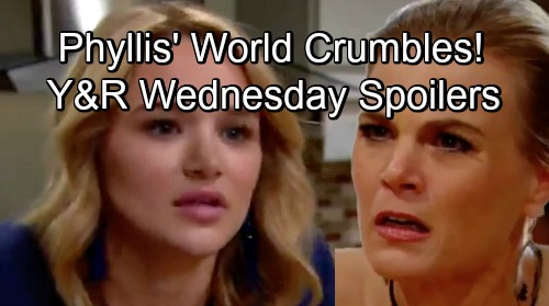 The Young and the Restless Spoilers: Wednesday, August 15 – Phyllis' World Crumbles, Summer's Got the Power – Lily Accepts Defeat