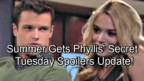 The Young and the Restless Spoilers: Tuesday, July 31 Update – Summer Tricks Kyle Into Revealing Phyllis' Secret – Shauna Blasts Lily