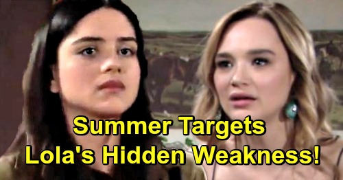 The Young and the Restless Spoilers: Summer's Desperate Effort Wins Kyle Back – Scheming Wife Exploits Lola's Hidden Weakness