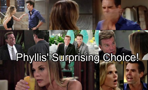 The Young and the Restless Spoilers: Phyllis Drawn to Jack, Billy Reels Over Reignited Love Triangle – Phyllis' Surprising Choice