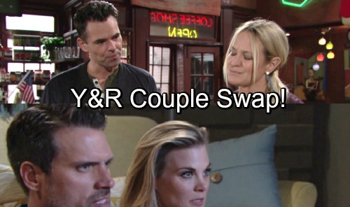 The Young and the Restless Spoilers: Y&R Surprise Couple Swap – Sharon With Billy and Nick With Phyllis?