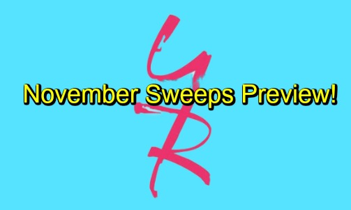 The Young and the Restless Spoilers: November Sweeps Preview – Genoa City Faces Shockers and Shakeups, Big Changes Brewing