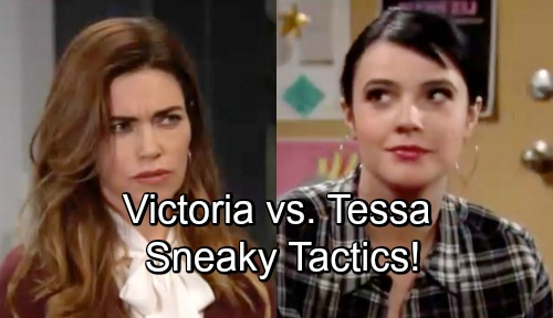 The Young and the Restless Spoilers: Victoria vs. Tessa, Schemers Battle It Out for Control – Sneaky Tactics Hit Where It Hurts