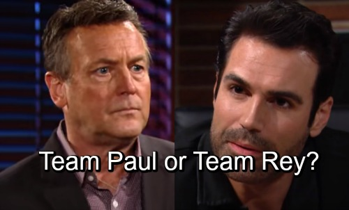 The Young and the Restless Spoilers: Team Rey or Team Paul - Major Change In Genoa City - Who Do You Prefer?