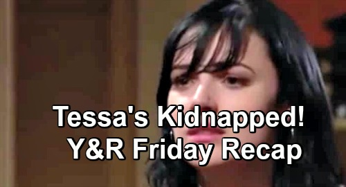 The Young and the Restless Spoilers: Friday, December 7 – Tessa Kidnapped – Sharon Suspects Phyllis Framed Victor - Nick's Hot Date