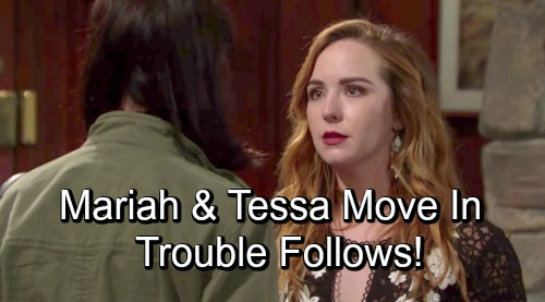 The Young and the Restless Spoilers: Mariah and Tessa Move In Together - Shocking Outcome Makes Mariah Regrets Decision