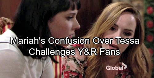 The Young and the Restless Spoilers: Mariah's Confusion Over Tessa Challenges Y&R Audience – All Sides Should Soul Search