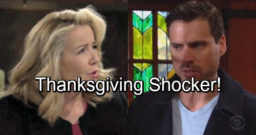 The Young and the Restless Spoilers: Nick and Nikki Team Up for a Thanksgiving Shocker – Victor and Chelsea Get a Big Surprise