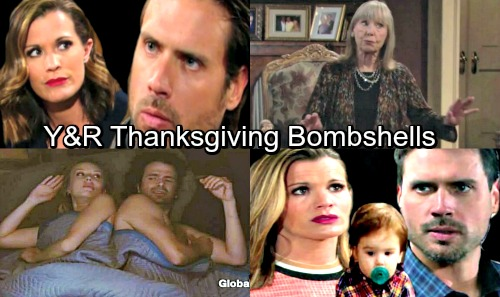 The Young and the Restless Spoilers: Genoa City Thanksgiving Bombshells – Cheaters, Liars and Secret-keepers Exposed