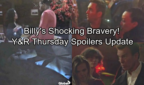 The Young and the Restless Spoilers: Thursday, November 2 Updates - Billy's Bravery Shocking Cost – Mariah Comes Clean