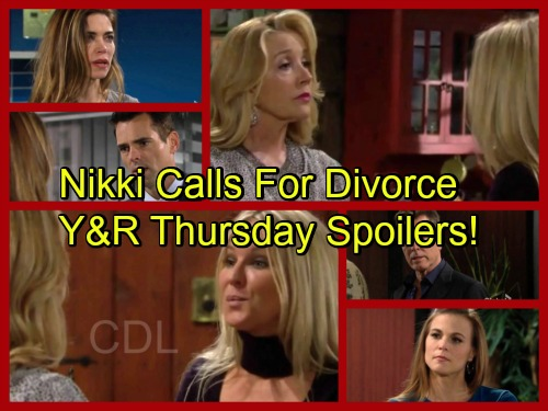 The Young and the Restless Spoilers: Nikki Wants Sharon to Divorce Dylan – Jack Makes Big Changes, Phyllis Worries