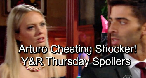 The Young and the Restless Spoilers: Thursday, November 15 – Arturo and Mia Cheating Bomb Drops – Phyllis and Nick's Fury Erupts