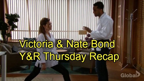 The Young and the Restless Spoilers: Thursday, September 20 Recap – Victor Explodes Over Matt's Meeting – Nate and Victoria Bond