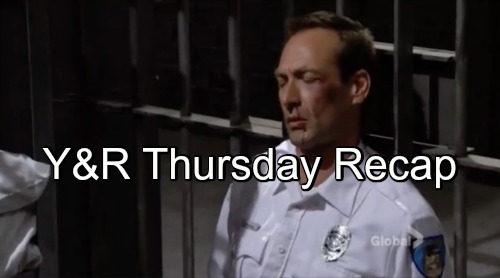 'The Young and the Restless' Spoilers: Adam Assaults Prison Guard – Billy Fears The Moustache Knows About Phyllis Affair